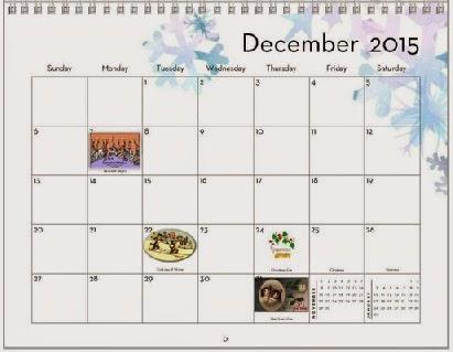 Diabetic Cats in Need 2015 DCIN Extra-Sweet Kitties Calendar - sample 2015 calendar