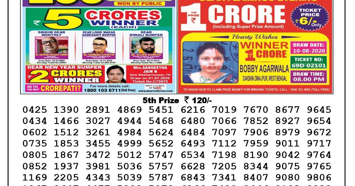Lotto 26.08 17