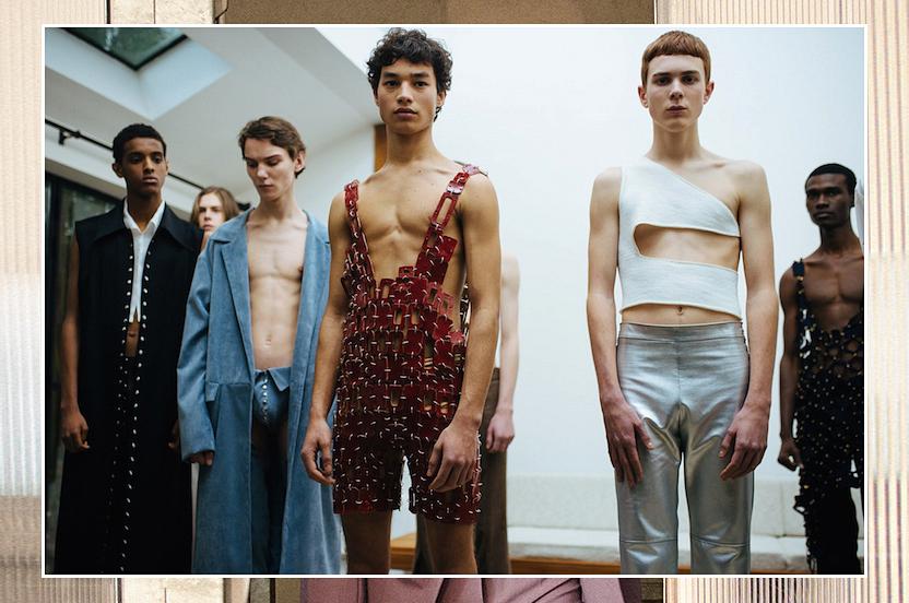 ¿Quién dijo que los hombres no pueden llevar vestidos?