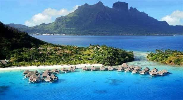 small island in indonesia