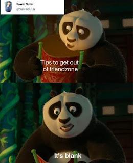 Kunfu Panda, Friendzone Meme