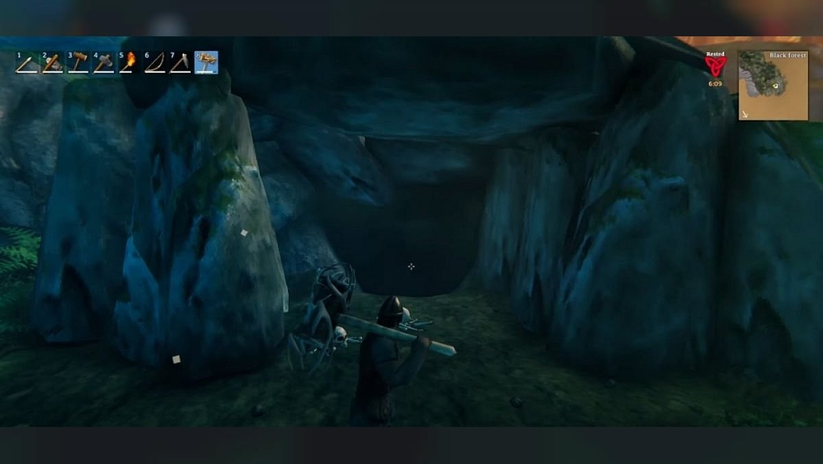 Where to find the cave and troll skin in Valheim. How to kill a troll in battle