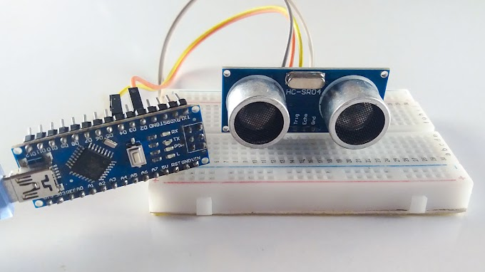 Ultrasonic sensor with Arduino Nano - How does work Ultrasonic sensor