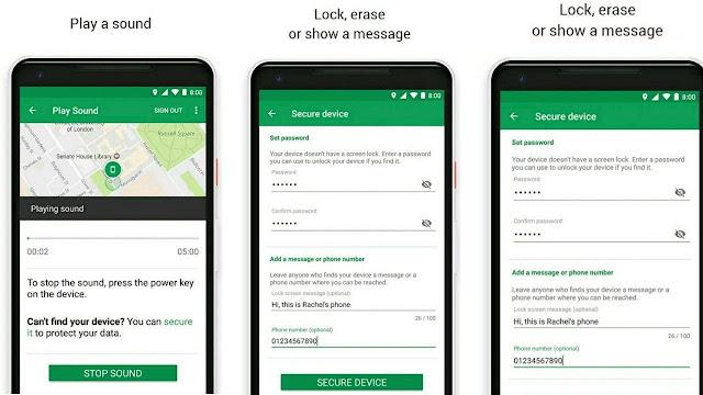 خدمة العثور على هاتفي Google Find My Device من جوجل