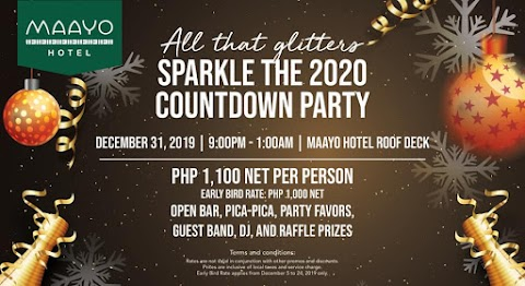 Welcome A New Decade With A Bang At Maayo Hotel!