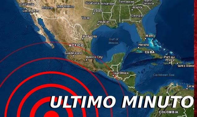 Un fuerte sismo sacude la frontera de México y Guatemala hace minutos..