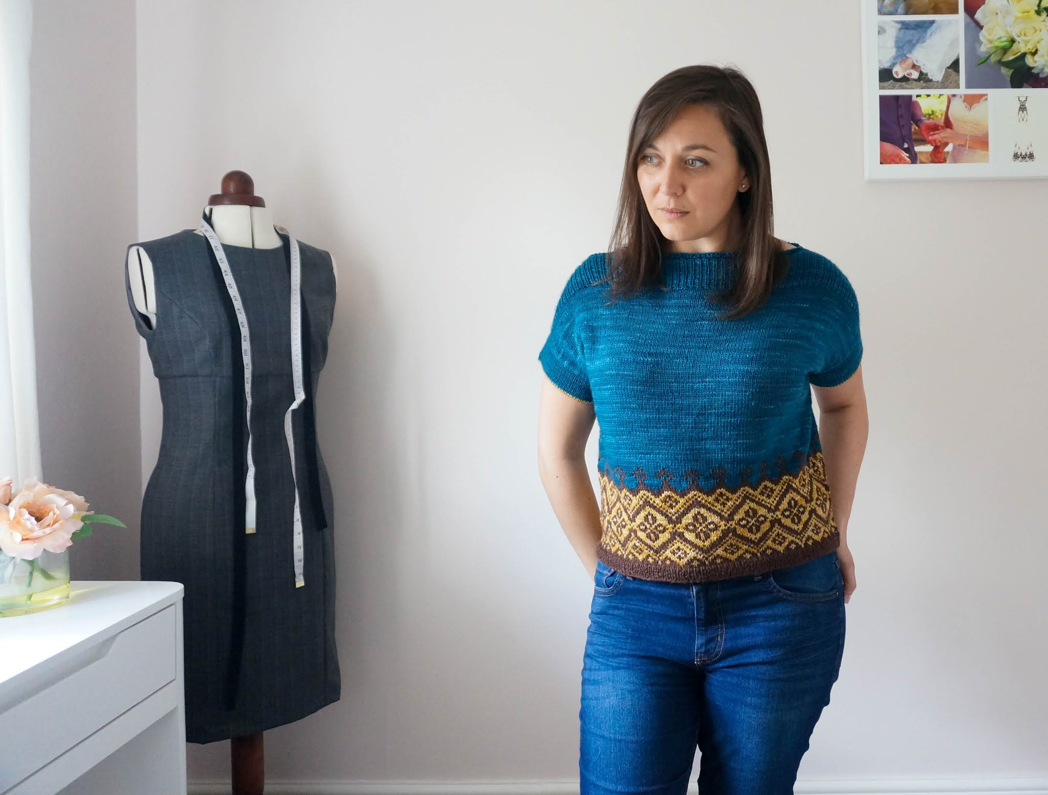 Caitlin Hunter Navelli tee pattern review