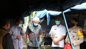 LO BNPB RI Mayjen (Purn) Dahlan Harahap Kunker di Kab. Toba
