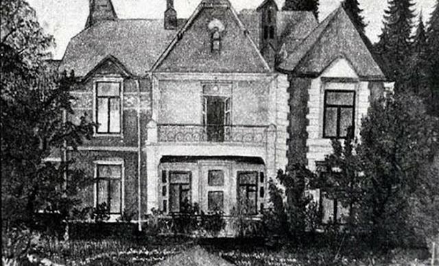 Quase não há fotos da casa em Zubalovo