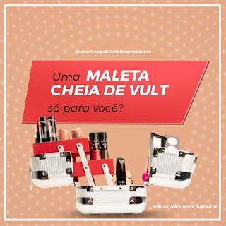 Promoção Vult Concorra Maleta Recheada de Make Todos os Dias