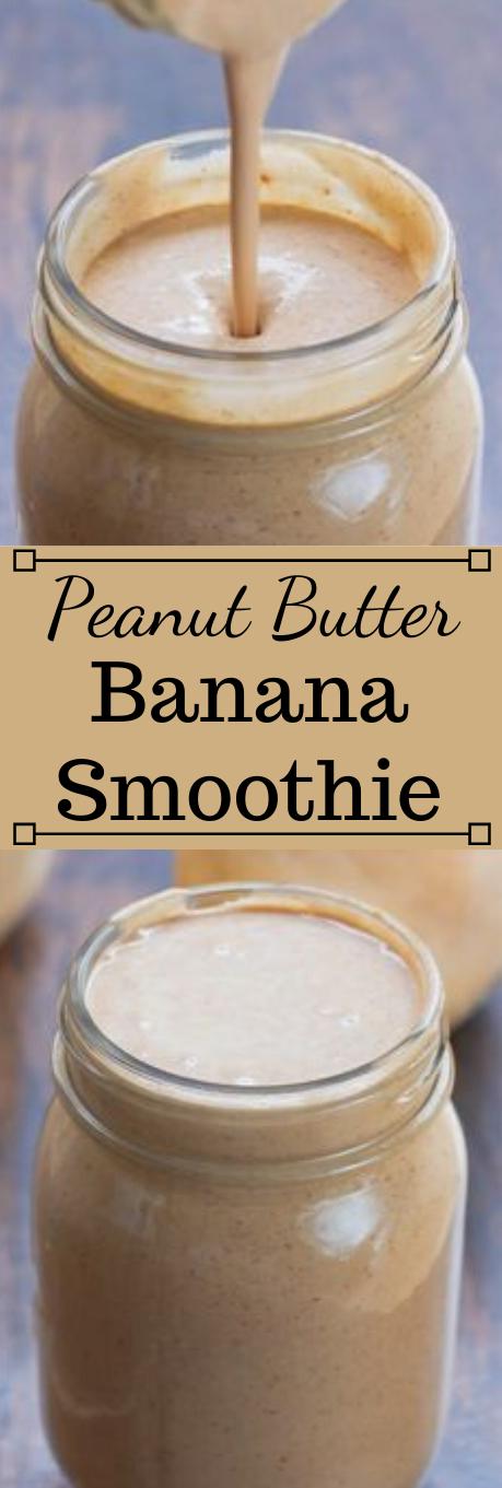 Peanut Butter Banana Smoothie #drink #smoothie #sangria #summer #cocktail