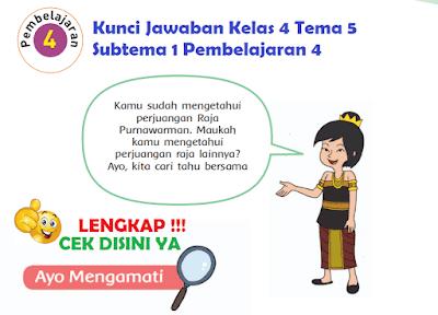 Kunci Jawaban Kelas 4 Tema 5 Subtema 1 Pembelajaran 4 www.simplenews.me