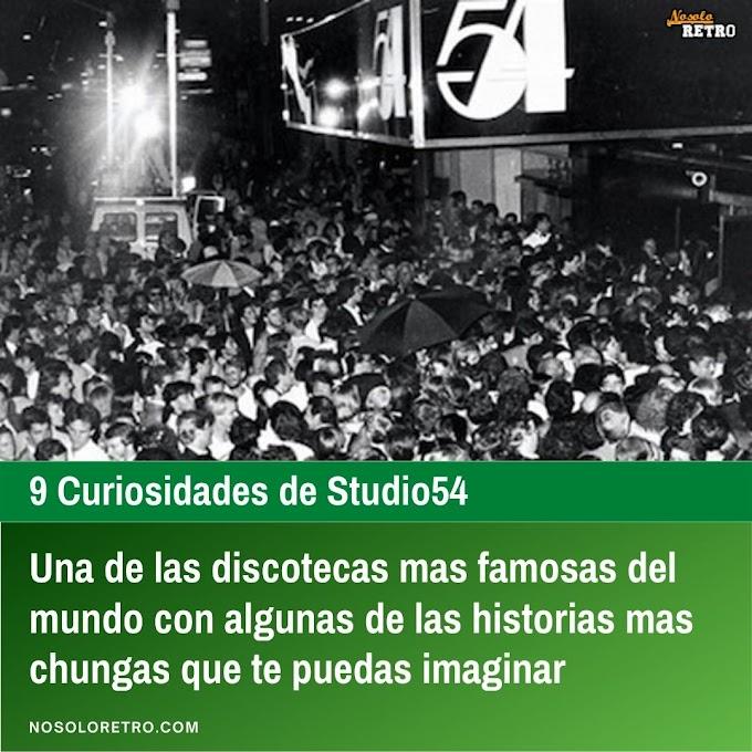 9 Curiosidades de Studio54