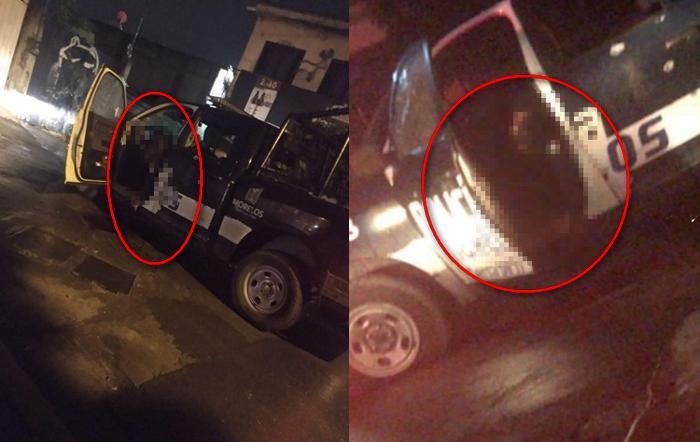 Encapuchados emboscan y rafaguean a dos policías cuando estaban dentro de su patrulla en Atlacomulco