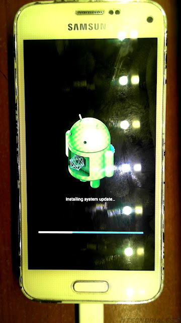 instalando android 6 stock en el s5 mini blanco