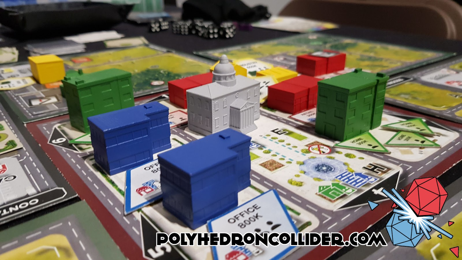 Kickstarter Highlight Magnate The First City Building Game - Town Hall