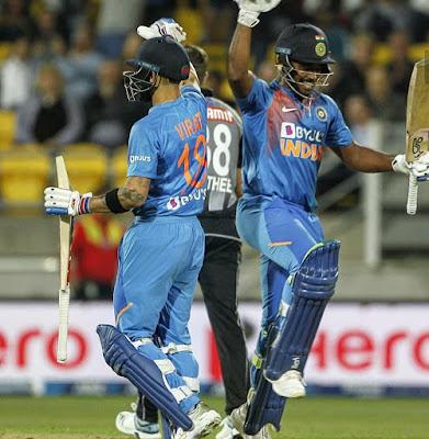 India vs New Zealand 1st ODI 2020 Match