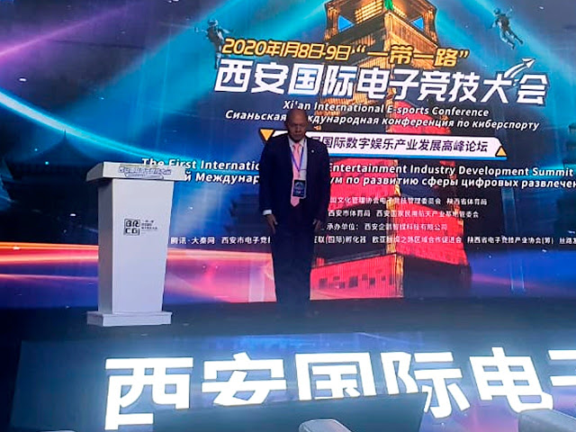 Deputado Coronel Chrisóstomo firma parceria com país asiático e garante eSports e Games no Brasil durante Conferência na China