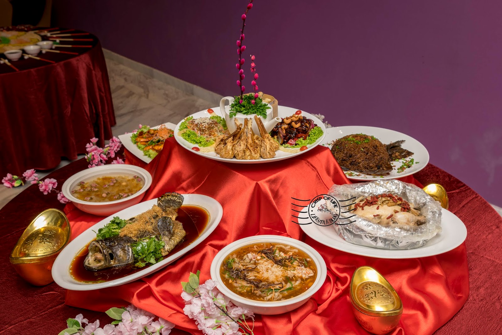 Celebrate Chinese New Year with Sumptous Buffet & Set Menu at Lexis Suites Penang