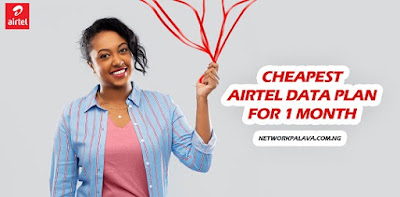airtel data plans for 1 month