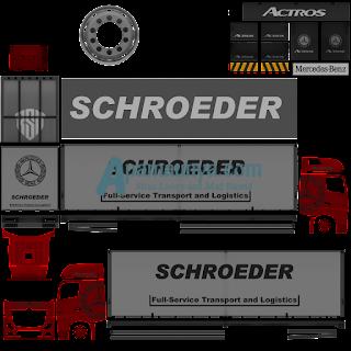 Download Livery Truck Actors Red Roda 10