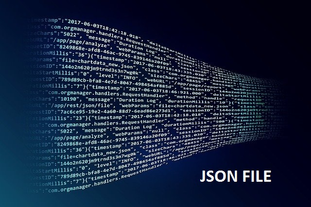 What is valid JSON file?   How to open valid JSON file?