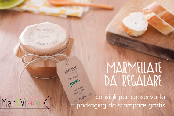 Mar vi blog idee regalo per natale marmellate con for Cose fatte in casa