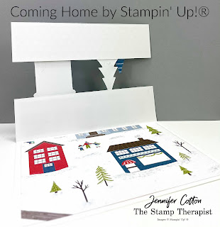 Coming Home Bundle by Stampin' Up!.  Six cards with Trimming the Town Designer Series Paper.  Details, video, and supply list on blog.  #StampinUp #StampTherapist