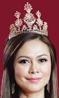 ruby diamond crescent tiara selangor malaysia tengku ampuan queen jemaah permaisuri norashikin