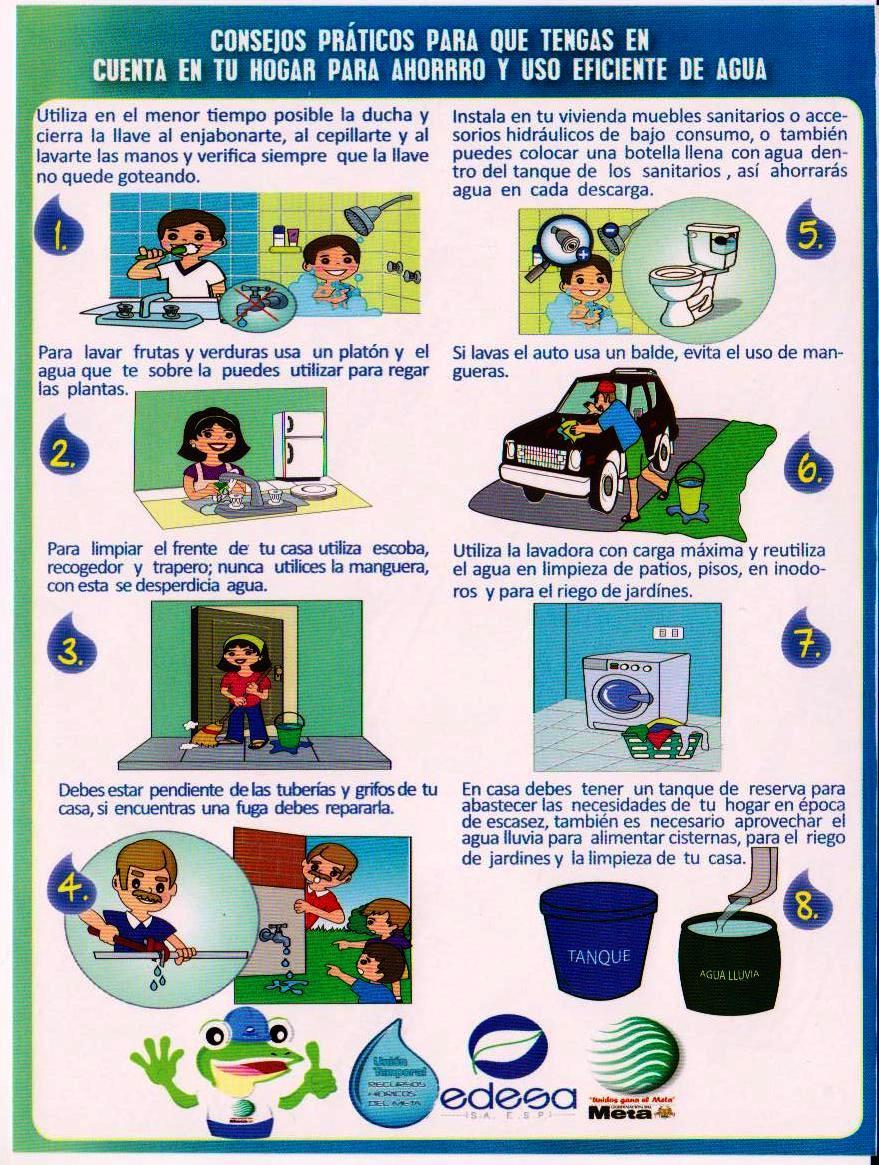 Educando juntos consejos para reducir la factura de la for Ahorro de agua