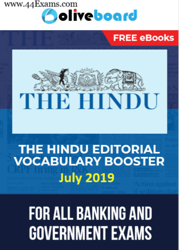 The-Hindu-Editorial-Vocabulary-Booster-July-2019-For-All-Competitive-Exam-PDF-Book
