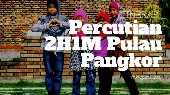 Itinerari Percutian Keluarga Di Pulau Pangkor, Perak