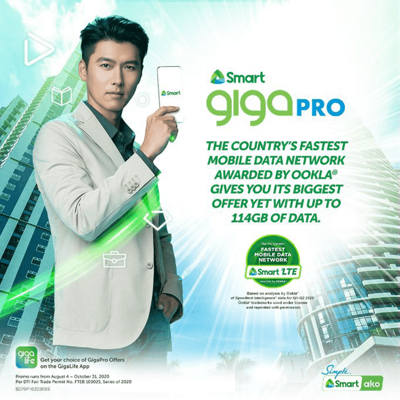 Smart intros GIGA Pro with 114GB total prepaid data for PHP 999