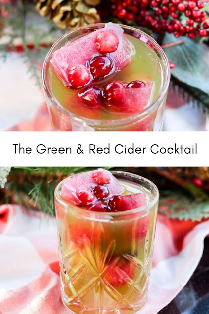 The Green & Red Cider Cocktail