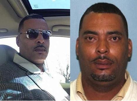 man wanted police mugshot selfie