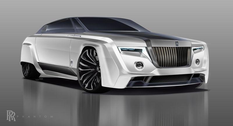 Tecnoneo: Rolls-Royce Phantom 2050 muestra una visión de ...