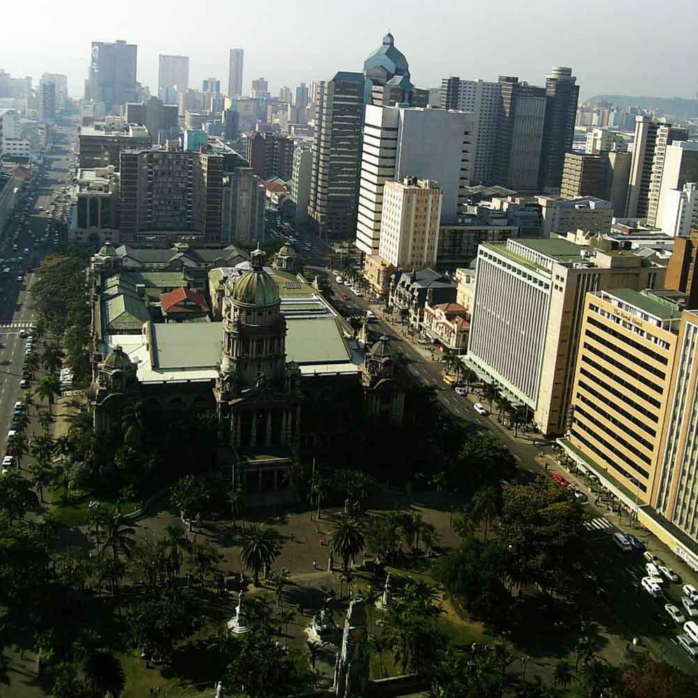 Durban, Qyteti i Afrikës së Jugut