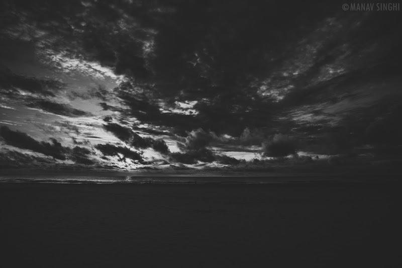 Sunrise from the Beach of Le Pondy Beach Resort, Pondicherry- 31-Oct-2019