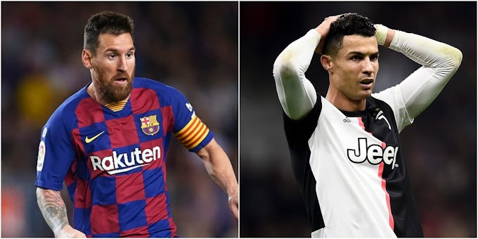 Lionel Messi overtakes Cristiano Ronaldo as the all-time record goalscorer in Europe's top five leagues with goal number 438
