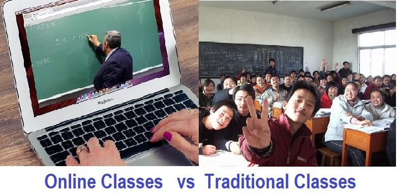 Online Classes vs Traditional Classes, Online Education vs Traditional Education, Education System
