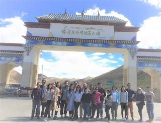 台灣人去西藏旅遊