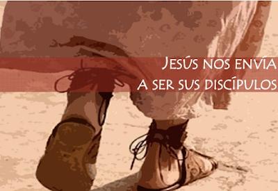 Resultado de imagen de jesus nos envia