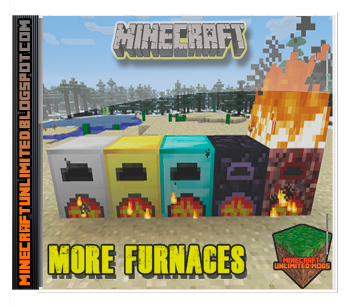Descargar More Furnaces Mod para Minecraft [1.7.10 / 1.8 ...