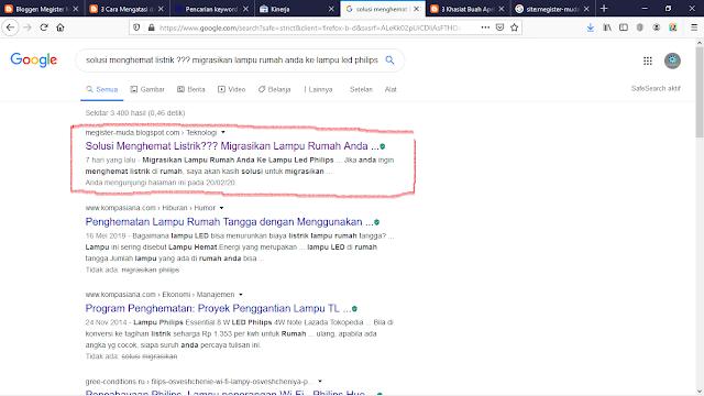 cara supaya artikel kita bisa muncul di halaman google