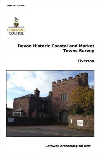 Devon Historic Coastal and Market Towns Survey - Tiverton