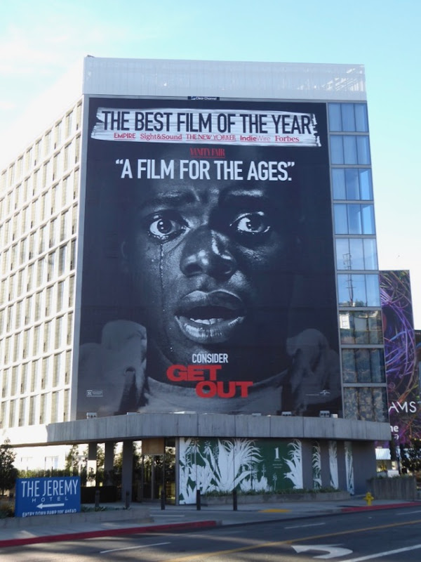 Get Out best film of the year billboard