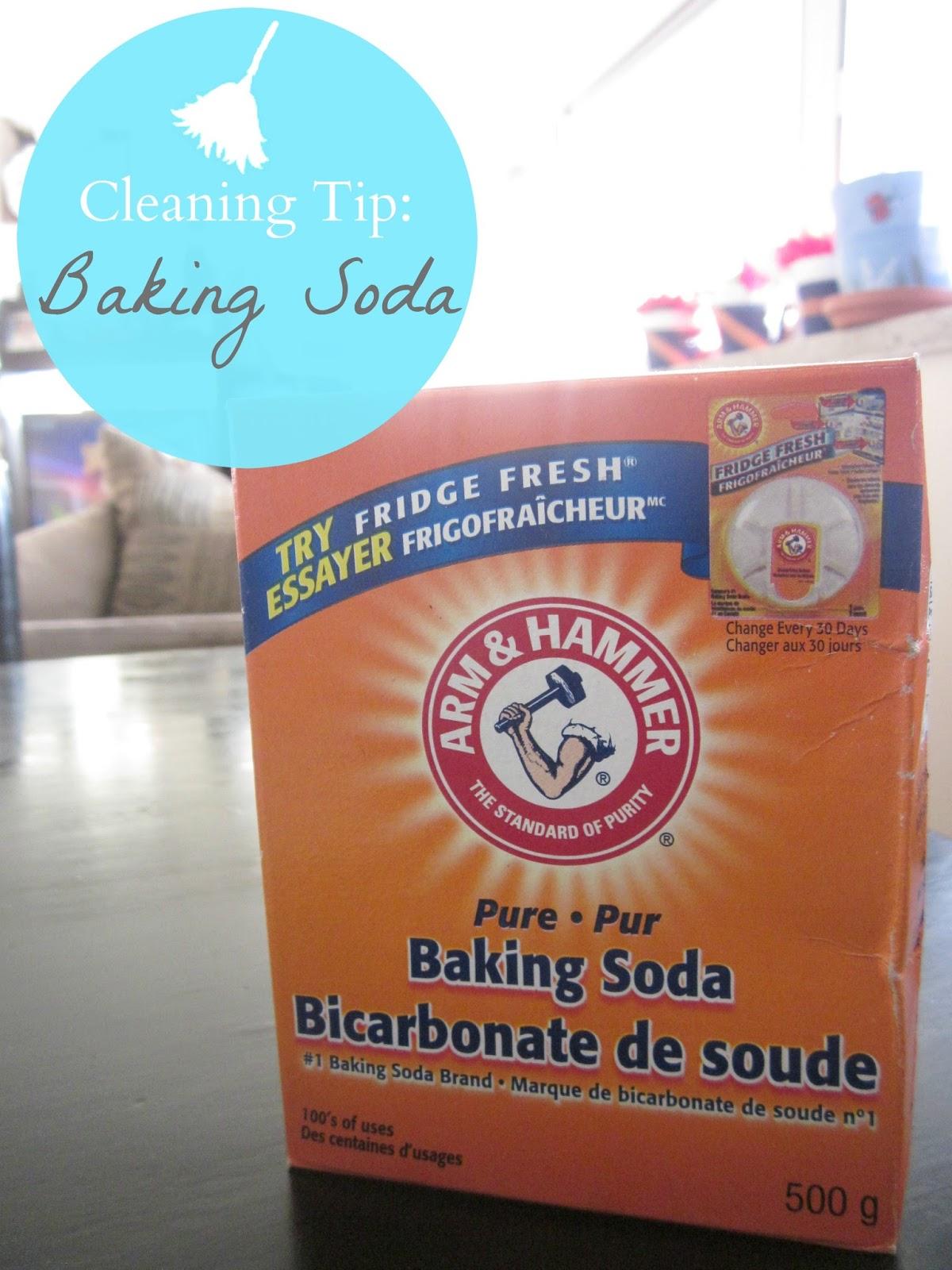 cleaning tip baking soda