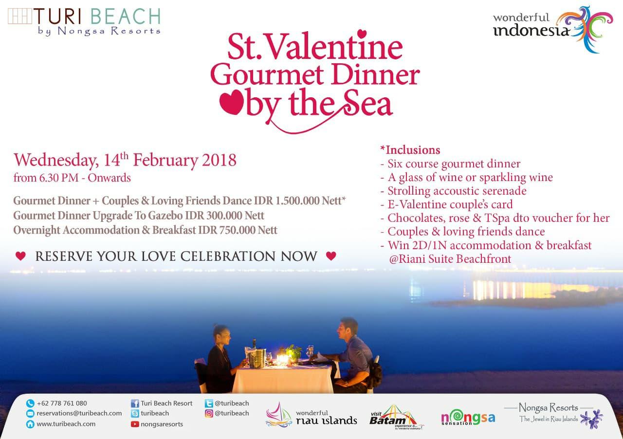 Valentine Dinner Turi Beach Resort