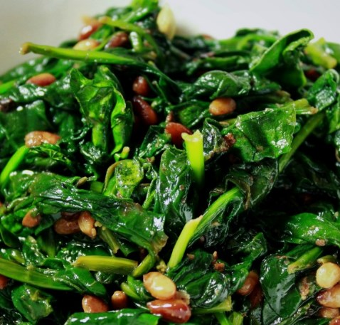 LEMON SAUTÉED SPINACH #vegetarian #veggies