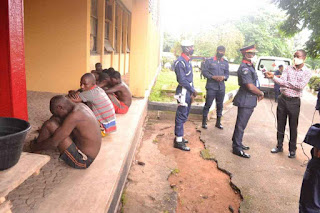 Suspected criminals in Oyo state